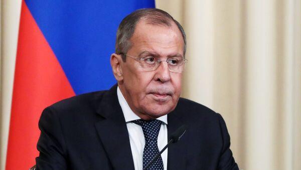 Министр иностранных дел РФ Сергей Лавров - Sputnik Аҧсны