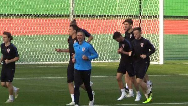 Тренировка хорватов перед финалом ЧМ - Sputnik Абхазия