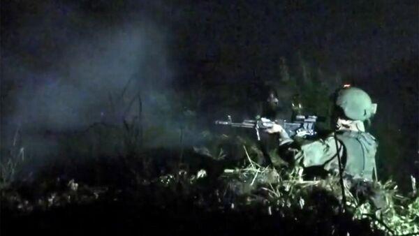 Мотострелки отразили ночную атаку на учениях в Забайкалье - Sputnik Абхазия