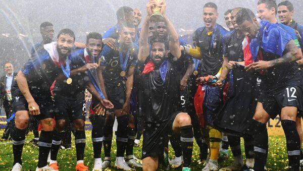 Награждение победителей ЧМ-2018 по футболу - Sputnik Абхазия