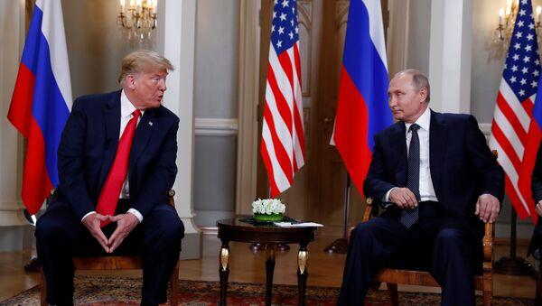 Встреча Владимира Путина и Дональда Трампа в Хельсинки - Sputnik Абхазия