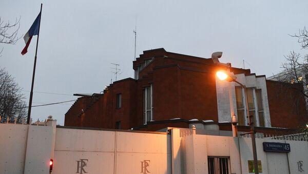 Основное здание посольства Франции на улице Большая Якиманка в Москве. - Sputnik Абхазия