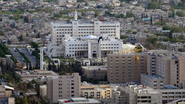 Вид на Дамаск с горы Кассион - Sputnik Абхазия