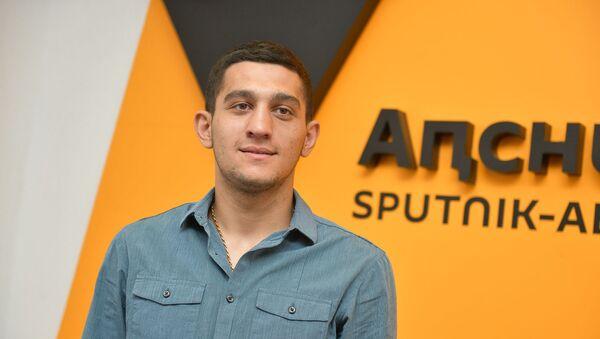 Игорь Адлейба на пресс-конференции в Sputnik Абхазии - Sputnik Аҧсны