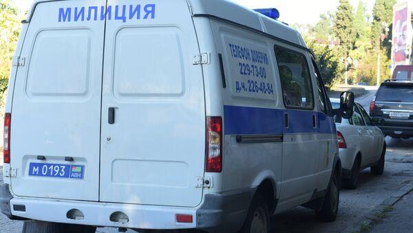 Ситуация у здания Абхазского гостелевидения в Сухуме - Sputnik Аҧсны