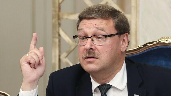 Председатель комитета Совета Федерации РФ по международным делам Константин Косачев - Sputnik Абхазия