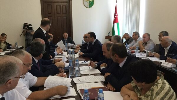 Заседание кабинета министров - Sputnik Абхазия