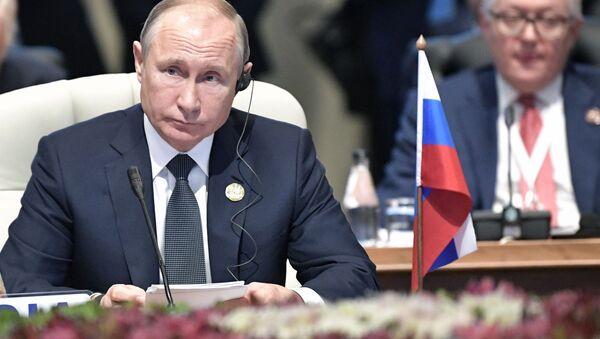 Президент РФ Владимир Путин. Архивное фото - Sputnik Аҧсны