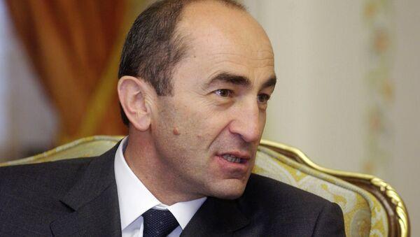 Президент Армении Роберт Кочарян во время своего визита в Россию. - Sputnik Аҧсны