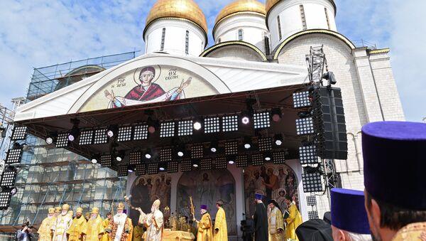 Празднование 1030-летия Крещения Руси в Москве - Sputnik Абхазия
