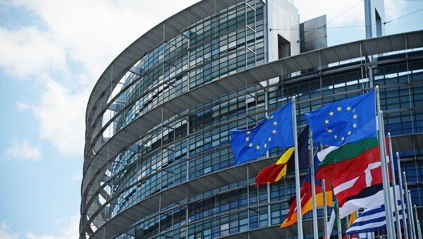 Здание Европейского парламента в Страсбурге. - Sputnik Аҧсны