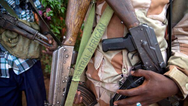 Солдаты в Центральной Африке - Sputnik Аҧсны