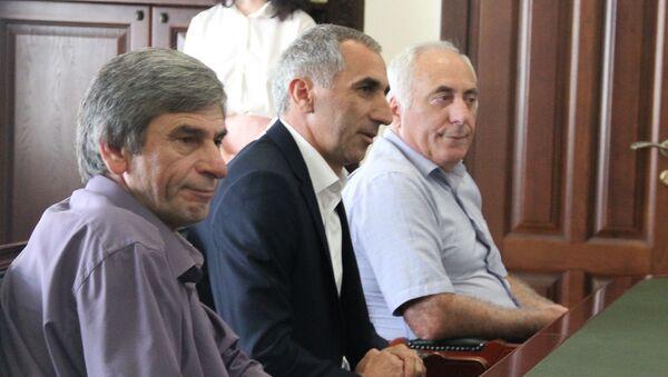 Встреча у президента Абхазии - Sputnik Аҧсны
