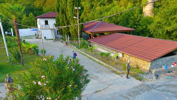 Сероводородный источник в селе Приморское - Sputnik Абхазия