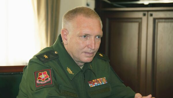 Генерал-майор Василий Лунев - Sputnik Абхазия