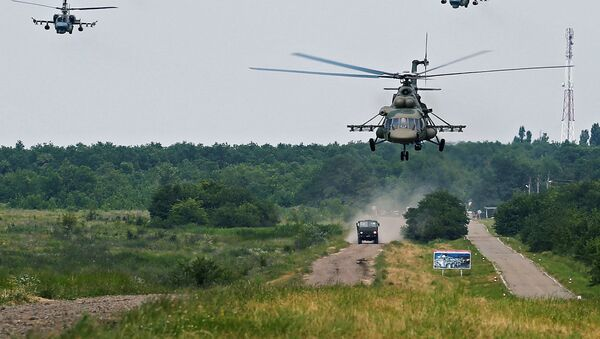 Тактико-специальные учения спецназа ЮВО - Sputnik Абхазия
