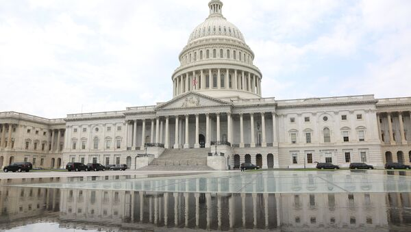 Капитолий в дни национального траура в Америке - Sputnik Абхазия