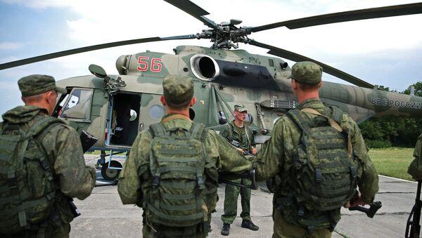 Тактико-специальные учения спецназа ЮВО. Архивное фото - Sputnik Абхазия