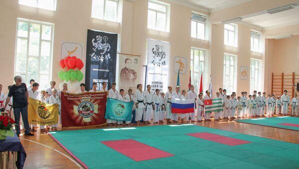 Кубок Восточной Европы по каратэ Шотокан Казэ Ха  - Sputnik Абхазия