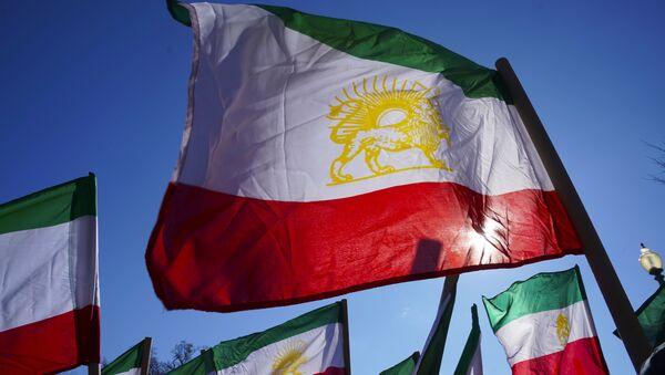 Флаги Ирана, фото из архива - Sputnik Абхазия