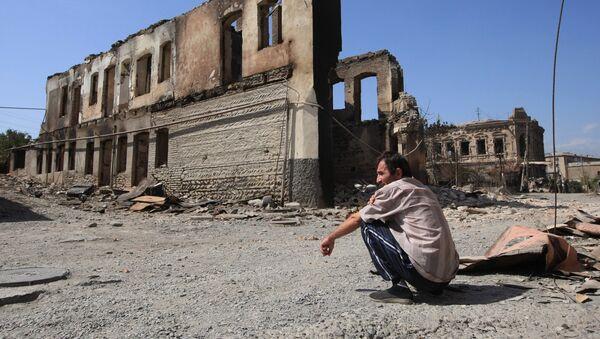 Цхинвал после разрушений - Sputnik Абхазия