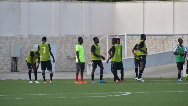 Футболисты сборной Нигерии - Sputnik Абхазия