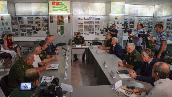 Круглый стол в Министерстве обороны - Sputnik Аҧсны