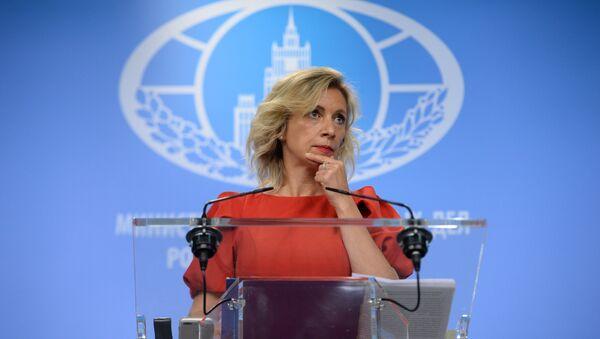 Официальный представитель министерства иностранных дел России Мария Захарова - Sputnik Аҧсны