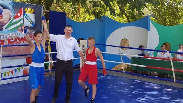 Боксеры из Абхазии заняли первые места на соревнованиях в Ейске - Sputnik Аҧсны