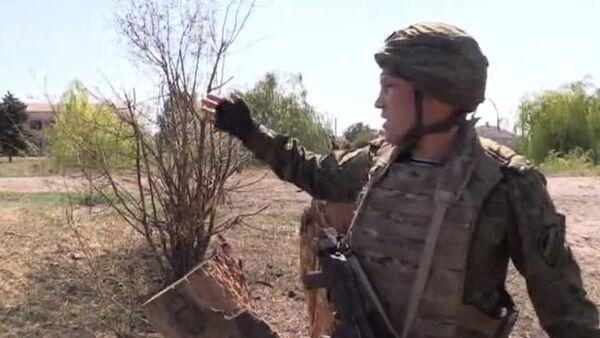 Журналисты ВГТРК в Донбассе попали под обстрел украинской армии - Sputnik Абхазия