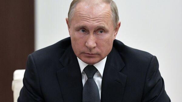 Рабочий визит президента РФ В. Путина в Германию - Sputnik Абхазия