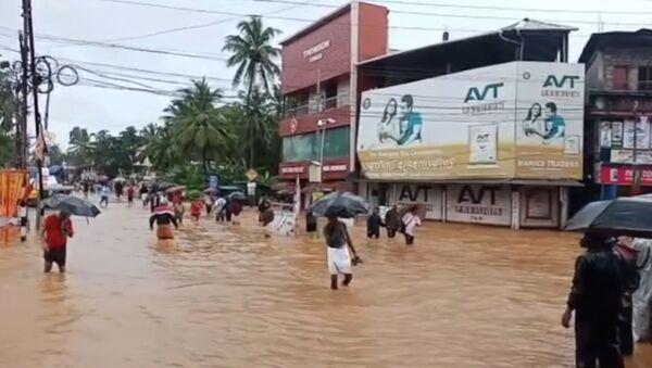 Наводнение в Индии - Sputnik Абхазия