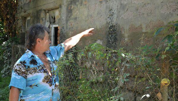 Последствия ливнего дождя в районе Чанба - Sputnik Абхазия