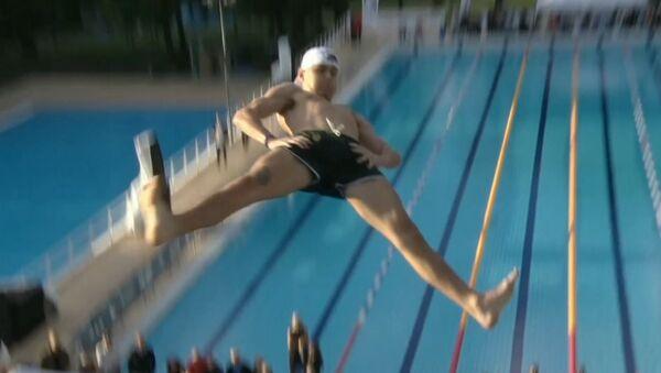 В Осло прошли соревнования по прыжкам в воду животом - Sputnik Абхазия