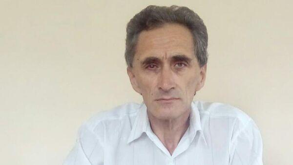 Аполитикатә ҭҵаарадыррақәа ркандидат Беслан Ҳагба - Sputnik Аҧсны