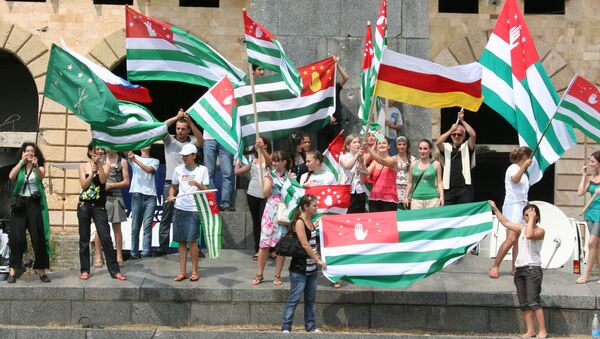 Сход абхазского народа в Сухуми - Sputnik Абхазия