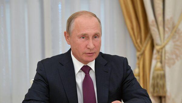Президент РФ В. Путин - Sputnik Абхазия