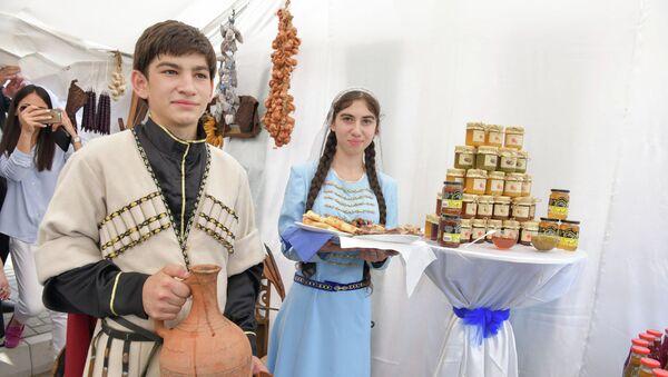 Выставка сельхозпродукции - Sputnik Аҧсны