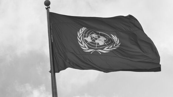 Флаг у Штаб-квартиры ООН - Sputnik Абхазия