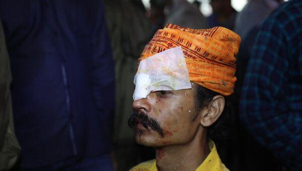 В Индии люди обращались в больницу после фестиваля метания камней - Sputnik Абхазия