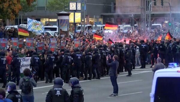 Протесты на востоке Германии - Sputnik Абхазия