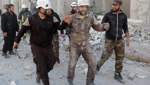 Активисты из организации Белые каски в Сирии. Архивное фото - Sputnik Абхазия