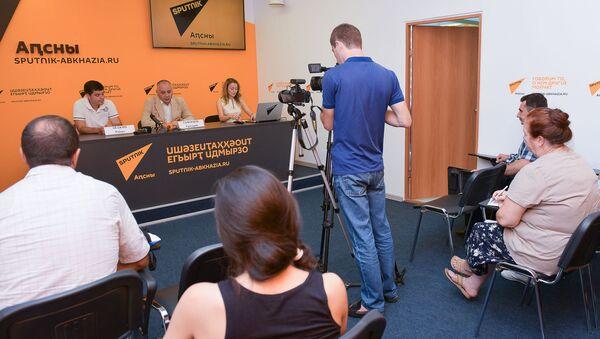 Пресс-конференция о новом этапе в развитии проекта Возвращение имени - Sputnik Абхазия