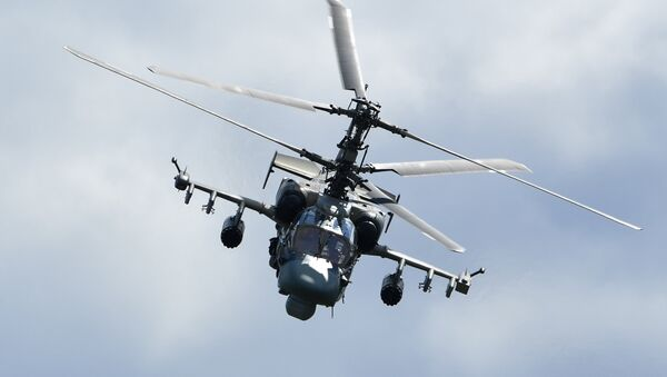 Вертолет Ка-52 Аллигатор - Sputnik Аҧсны
