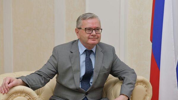 Чрезвычайный и Полномочный посол РФ в Республике Абхазия Алексей Двинянин  - Sputnik Абхазия