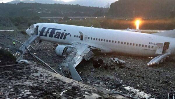 Самолет Boeing 737-800 авиакомпаниии Utair, рейса Москва - Сочи - Sputnik Абхазия