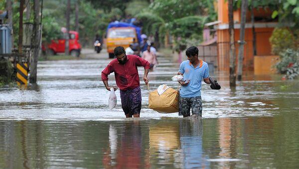 Наводнение в Индии - Sputnik Аҧсны