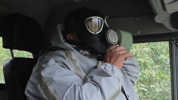 Учение с подразделениями РХБ защиты Центрального военного округа - Sputnik Абхазия