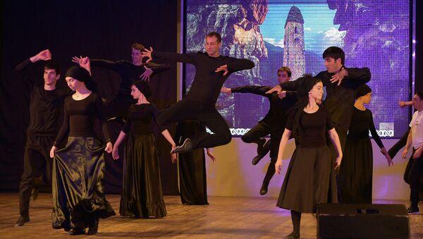Репетиция государственного ансамбля Ингушетия в Госфилармонии в Сухуме - Sputnik Абхазия