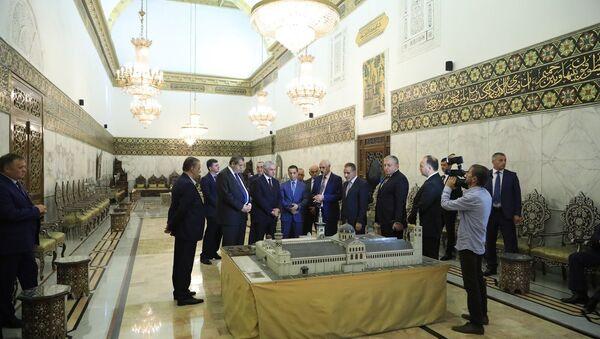 Хаджимба посетил исторические места Сирии - Sputnik Аҧсны